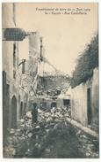CPA - SALON (B. Du R) - Tremblement De Terre 11.06.1909 - Rue Coutellerie - Salon De Provence
