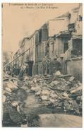 CPA - SALON (B. Du R) - Tremblement De Terre 11.06.1909 - La Rue D'Avignon - Salon De Provence