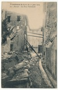 CPA - SALON (B. Du R) - Tremblement De Terre 11.06.1909 - La Rue Palamard - Salon De Provence
