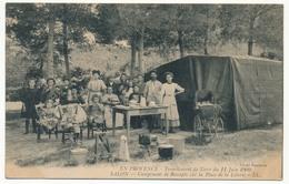 CPA - SALON (B. Du R) -Tremblement De Terre 11.06.1909 - Campement De Rescapés Sur La Place De La Liberté - Salon De Provence