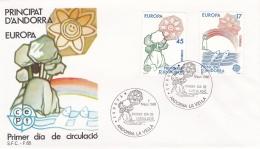 Andorra 1986 FDC Europa CEPT (T17-12)