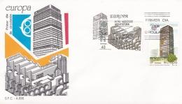 Spain 1987 FDC Europa CEPT (T17-12)