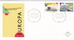 Netherlands 1987 FDC Europa CEPT (T17-12)