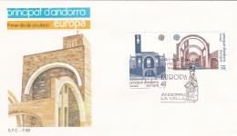 Andorra 1987 FDC Europa CEPT (T17-12)