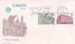 Spain 1978 FDC Europa CEPT (T17-12)
