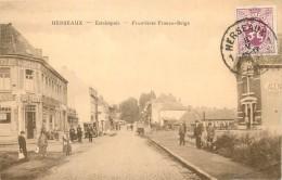 Mouscron - Herseaux-Estaimpuis : Frontières Franco-Belge - Mouscron - Möskrön
