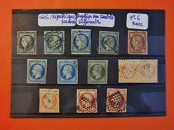 FRANCE CLASSIQUES COTE ENORME TIMBRES OBLITERES ENTRE 1849 ET 1900 MAJORITE TB - 1849-1850 Cérès