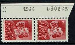 665  Paire  Bdf  ** S  1944  060625