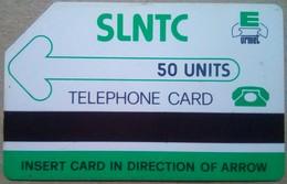 Sieere Leone Phonecard 50 Units First Issue Logo - Sierra Leone