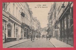 Mons - Rue De La Chaussée ... Rue Animée - 1911 ( Voir Verso )