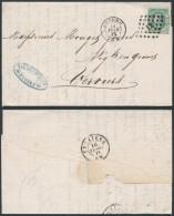 AO355 Lettre Privée De Anvers à Verviers 1871 - Non Classés