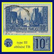 N° 261 PORT DE LA ROCHELLE 1929-30 - TYPE III - OBLITÉRÉ  TB
