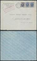 AO391 Devant De Lettre De Bruxelles Q.L Vers Chalon Sur Saone France 1932 - Belgien