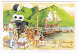 Polynésie Française / Tahiti - Carte Postale Prétimbrée à Poster / Aout 2016 - La Bounty Au Cinéma