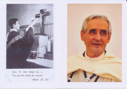Doodsprentje Pater Hervé LUNDEN ° Sint-Pieters-Woluwe 1932 + Humbeek 2016 - Missionaris Rwanda