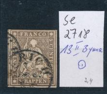 Schweiz Nr. 13 II Byma  O0 (se2718   ) Siehe Scan