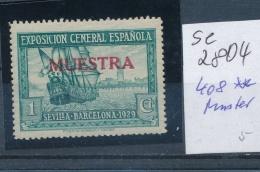 Spanien  Nr .408 ** MUSTER   (se2804   ) Siehe Scan