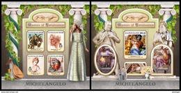 SOLOMON Isl. 2017 - Michelangelo. M/S + S/S