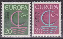 Série De 2 Timbres-poste Neufs** - Europa - N° 376-377 (Yvert) - République Fédérale D'Allemagne 1966