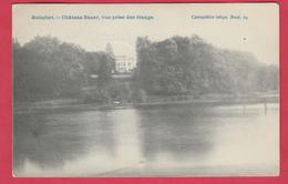 Boitsfort - Château Bauer , Vue Prise Des étangs - 1908 ( Voir Verso ) - Watermael-Boitsfort - Watermaal-Bosvoorde