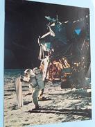 SATURNE - ASTRONAUT - MAAN Luna - Instruments Scientifiques - Drapeau Américain ( USIS / Best ) 1969 ( Zie Foto's ) ! - Histoire
