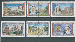 Nevis 1984 British Monarchs Part Set Of 6 Pairs To $3  MNH