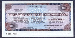 Russia - 1987 - 100 Rubel..travelles Cheque..UNC - Russie