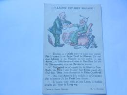 HUMOUR GUILLAUME EST BIEN MALADE - Oorlog 1914-18