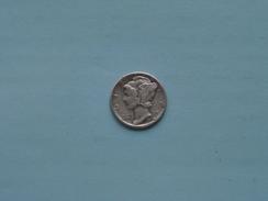 1940 One DIME / KM 140 ( Details Zie Foto ) ! - Émissions Fédérales