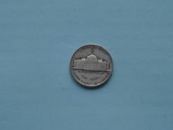 1943 P - Five Cents / KM 192a ( Details Zie Foto ) ! - 1938-…: Jefferson