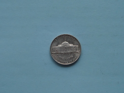 1945 D - Five Cents / KM 192a ( Details Zie Foto ) ! - Federal Issues