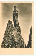 ALPINISTE - ALPINISME - CARTE PHOTO - MONTAGNE ROCHER - Alpinisme