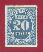 Brasil - 20 Reis - 1893 - Brazilië
