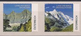 "2012.11.29 Austria AWZ Distributeurs Mi. 26-7 I BA **MNH   Land Der Berge "" Dachstein + Grossglockner "" RRR - 1945-.... 2. Republik"