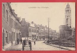 59 COMINES : Rue D'Hurlupin - France