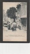 13 TREMBLEMENT DE TERRE DU 11 JUIN 1909 - Lambesc, Les Habitants Abandonnent Leurs Demeures - Disasters
