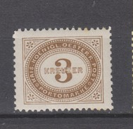 Yvert 3 * Neuf Charnière Dentelé 12 1/2 - Postage Due