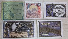 RARE Collection Ww1 Lot 25 Timbres- Vignettes Unités Régiments De Guerre Erinnophilie Franco De Port Pour Europe - Documents