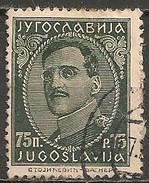 Timbres - Yougoslavie - 1932 - 75 P - N° 212 B - - 1931-1941 Royaume De Yougoslavie