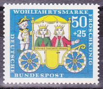 Timbre-poste Neuf** - Conte Des Frères Grimm Le Roi Des Grenouilles - N° 383 (Yvert) - RFA 1966