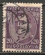 Timbres - Yougoslavie - 1931 - 20 D - N° 236 - - 1931-1941 Royaume De Yougoslavie