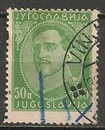 Timbres - Yougoslavie - 1932 - 50 P - N° 211 A - - 1931-1941 Royaume De Yougoslavie