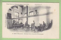ARMENTIERES : Ecole Nationale Professionnelle, Atelier De Menuierie, Machines à Bois. TBE. 2 Scans. Ed Bulteau - Armentieres