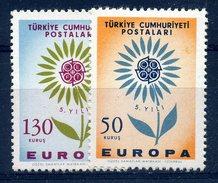 EUROPA  CEPT 1964 - Turquie - Yvert Nr. 1697/1698 - Michel Nr. 1917/1918 ** - Europa-CEPT