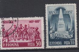 ROEMENIË - Michel - 1957 - Nr 1681/82 - Gest/Obl/Us