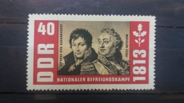 DDR 1963 MH 150TH ANNIVERSARY OF THE WAR OF LIBERATION