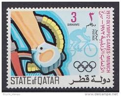 1972 QATAR   ** MNH Vélo Cycliste Cyclisme Bicycle Cycling Fahrrad Radfahrer Bicicleta Ciclista Ciclismo [dt25]