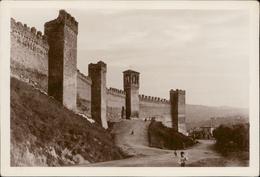 Gradara Mura Del Castello Mediovale - Italie