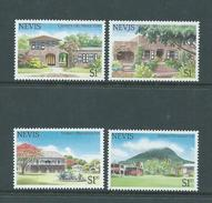 Nevis 1985 Tourist Hotel Scene Set 4 MNH