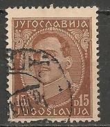 Timbres - Yougoslavie - 1932 - 15 D - N°? - - 1931-1941 Royaume De Yougoslavie